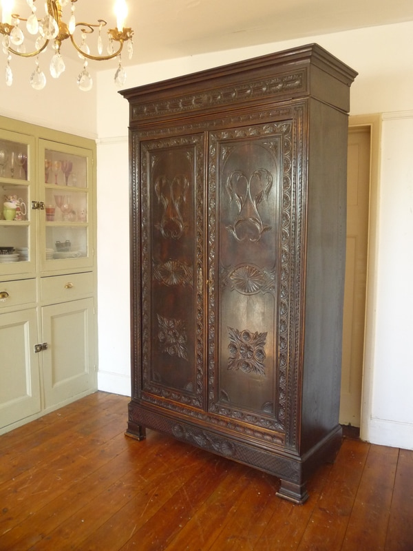 Antique Louis Philippe French Armoire