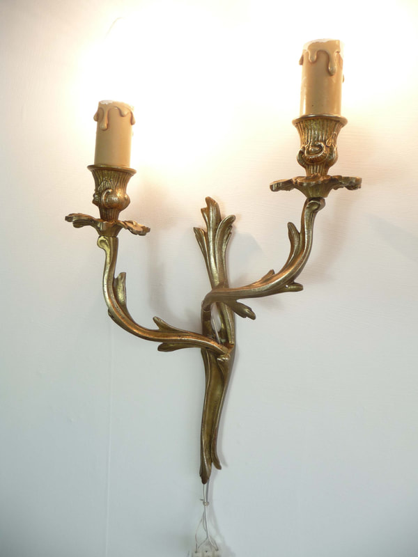 French Antique Candle Sconce