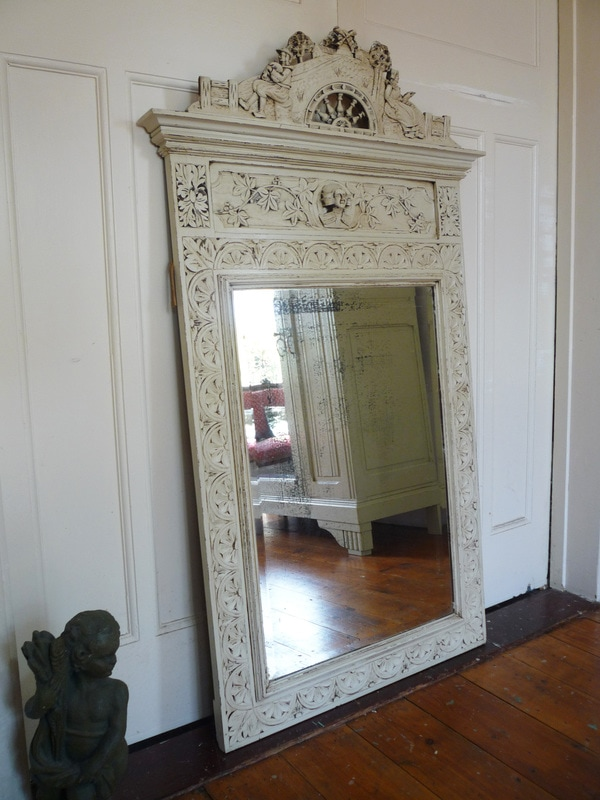 Huge Antique French mirror