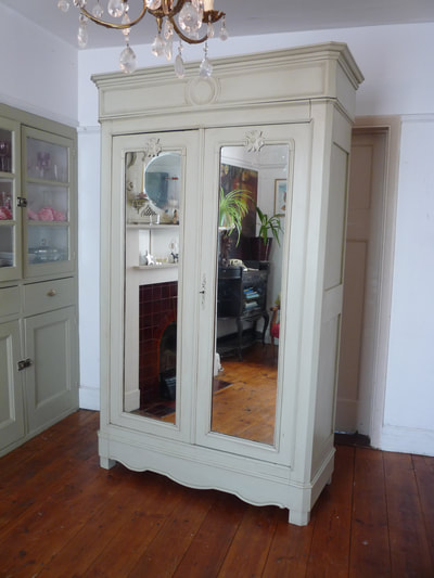 Louis Philippe French Armoire