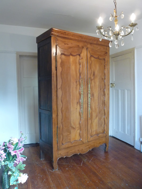 Antique Louis XV French Armoire